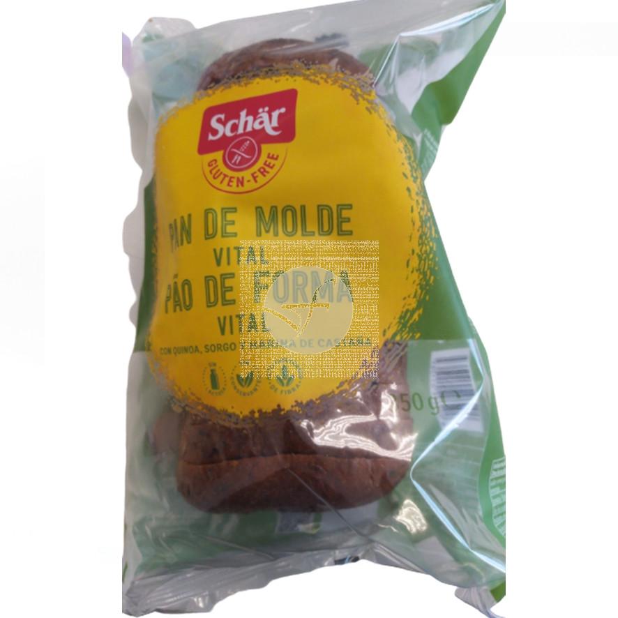 Pan De MolDe Vital sin gluten Dr. Schar