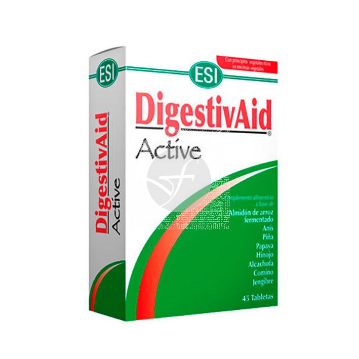 Digestivaid Active 45 comprimidos Trepat-Diet