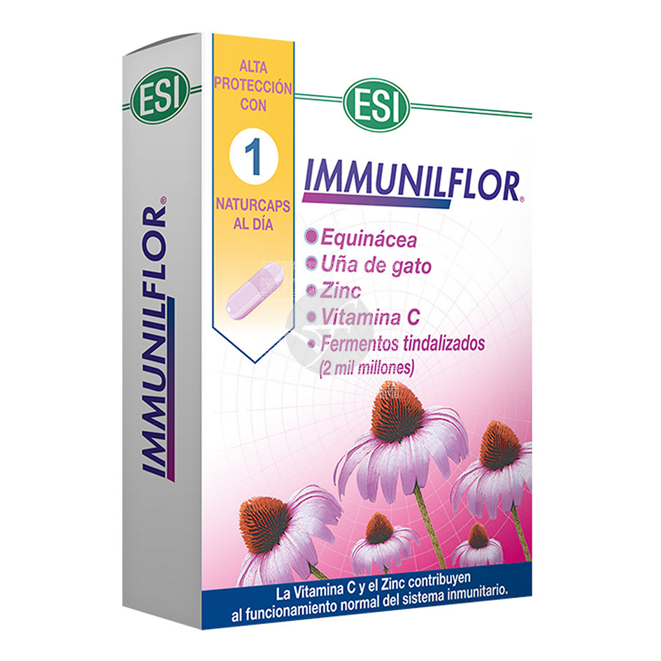 Immunilflor capsulas Defensas Trepat-Diet