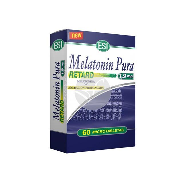 Melatonina Pura Retard 1,9Mg Trepat-Diet