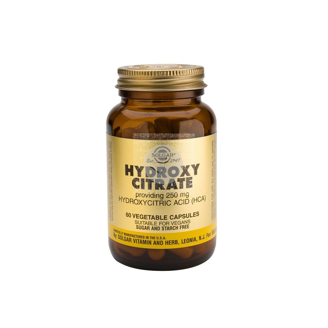 Acido Hidroxicitrato Hca 250Mg Solgar