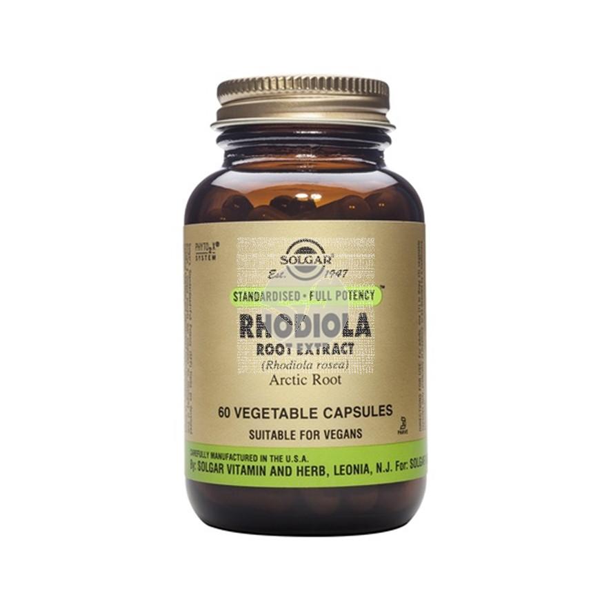 Rodiola Estandarizada 60 capsulas Solgar