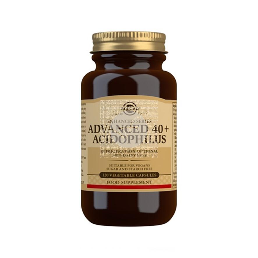 40+ Acidophilus Avanzado 120 capsulas Solgar