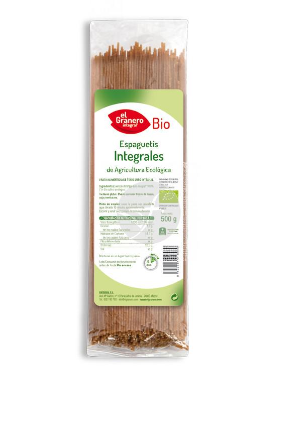 Espaguetis integrales Bio Granero integral