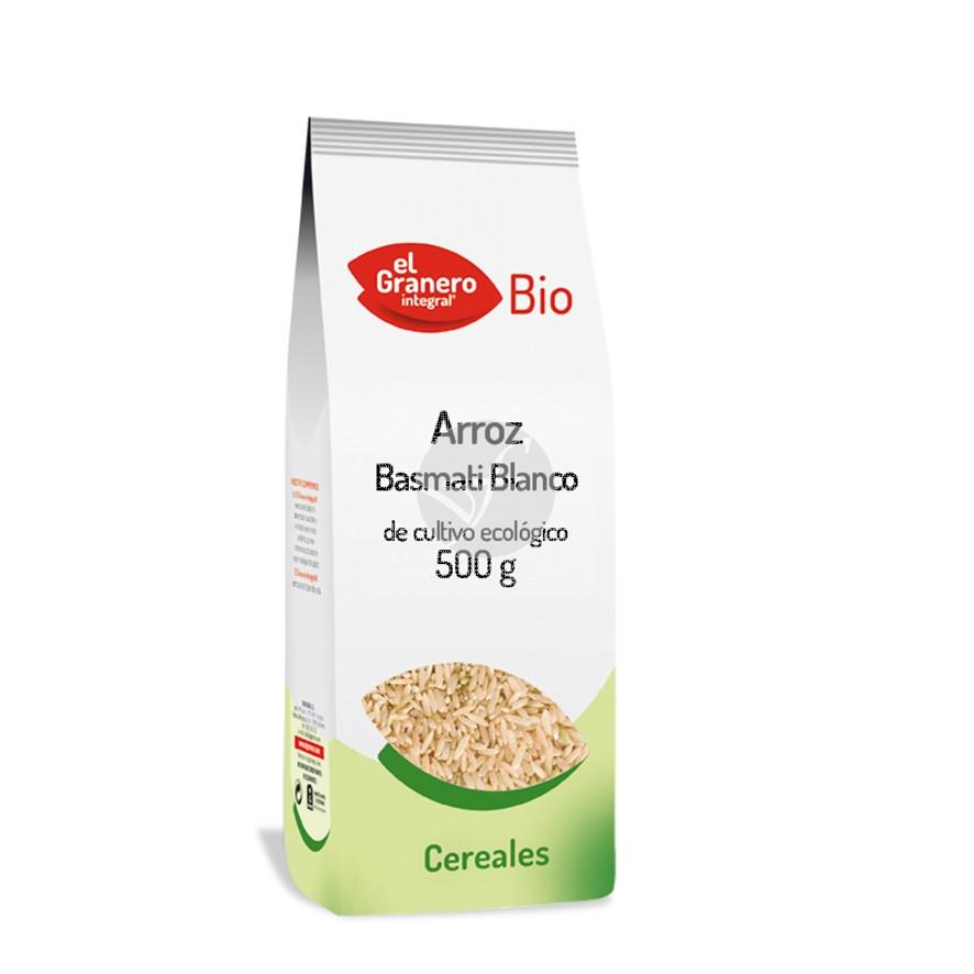 Arroz Basmati Blanco Bio Granero integral
