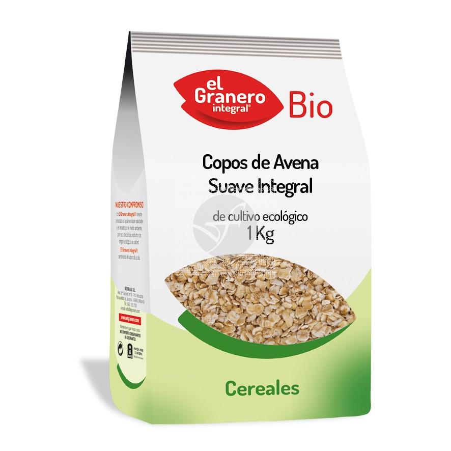 Copos De Avena suave integral Bio Granero integral