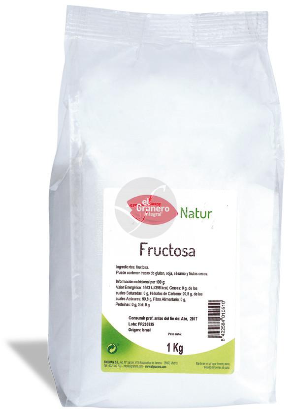 Fructosa 1 Kg Granero integral