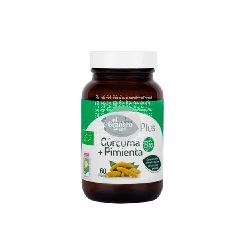 Cúrcuma con Pimienta Bio 60 Cápsulas Granero Integral