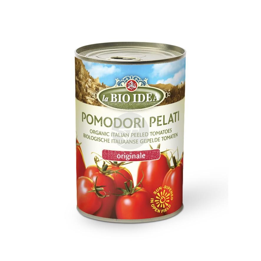 Tomate Entero Pelado En Lata Bio IDea
