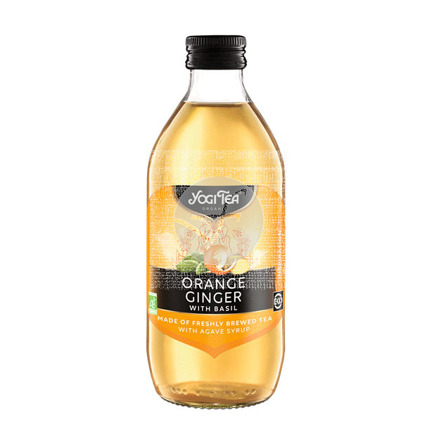 Bebida Infusion De Naranja y Jengibre Ecológico Vegano Yogi Tea