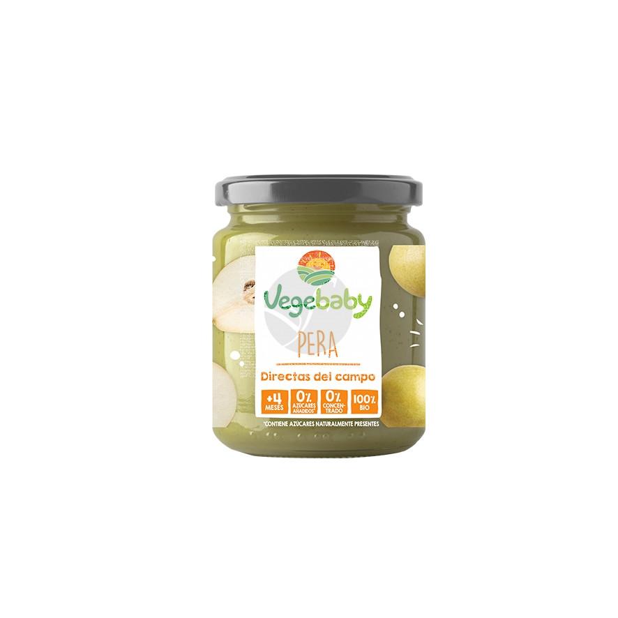Potito de pera Sin Gluten Eco 190gr Vegebaby