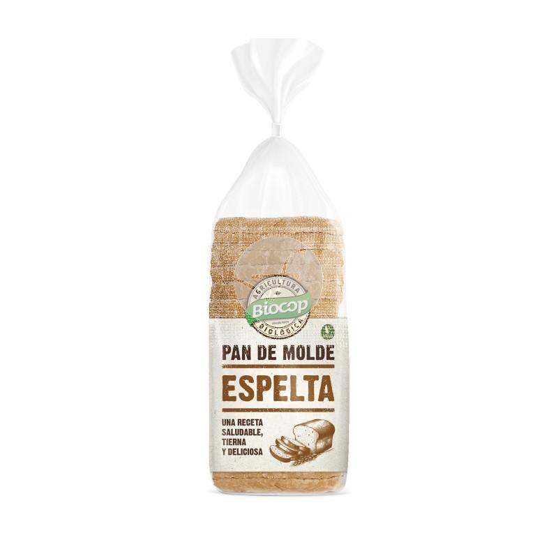 Pan De MolDe Blando Espelta Biocop