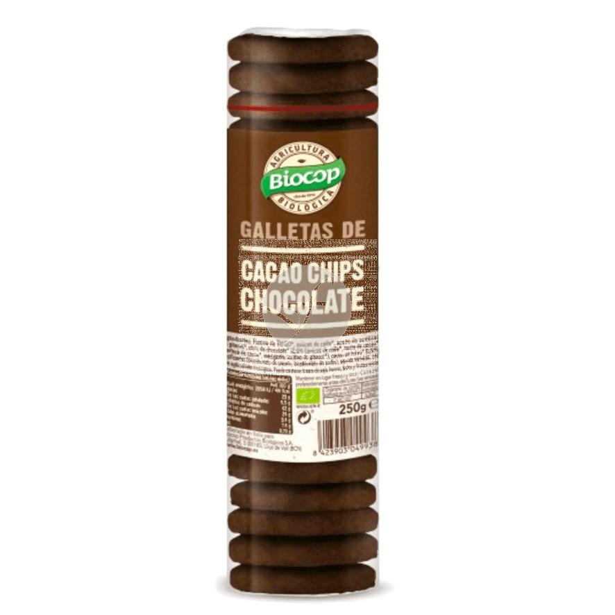 Galletas de Cacao con Chips De Chocolate Bio Biocop