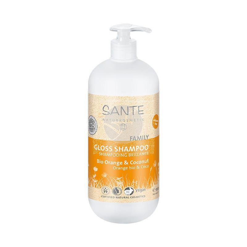 Champu Naranja Bio y Coco 950ml Sante