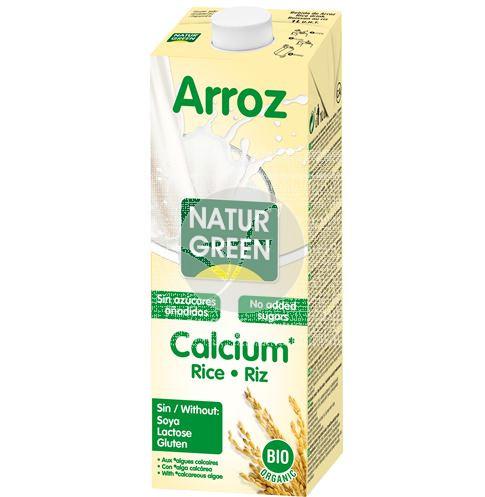 Bebida Vegetal De Arroz On Calcio Eco 1L NaturGreen