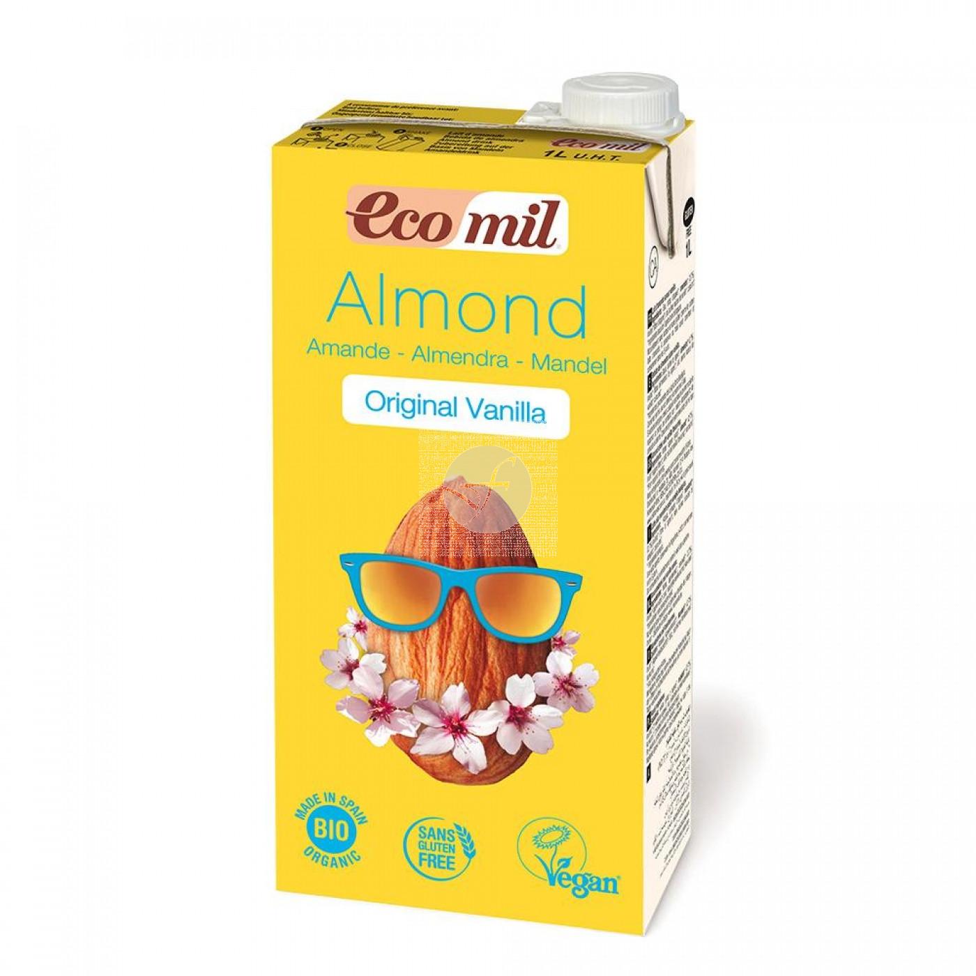Bebida Vegetal Almendra Vainilla Bio Nutriops
