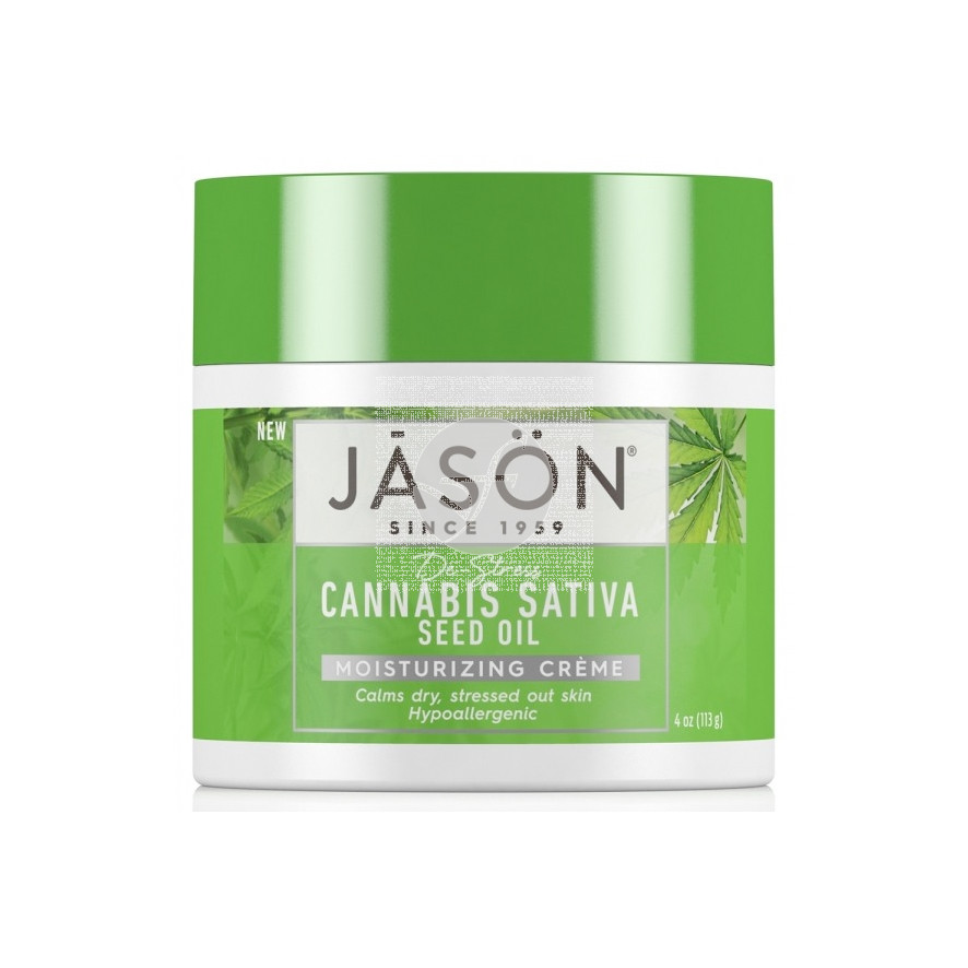 Crema Hidratante Cannabis Sativa 113gr Jason