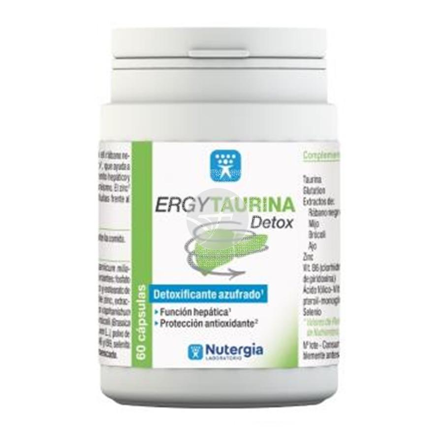 Ergytaurina Detoxificante 60 capsulas Nutergia