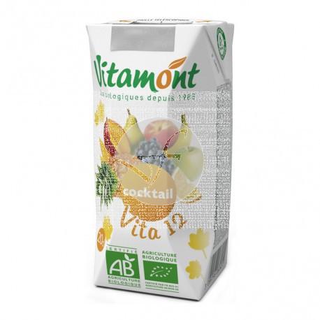 Zumo Vita 12 Frutas sin Azucar Bio Vitamont