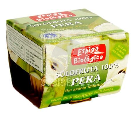 Compota de Pera Bio sin azúcar Espiga Bio