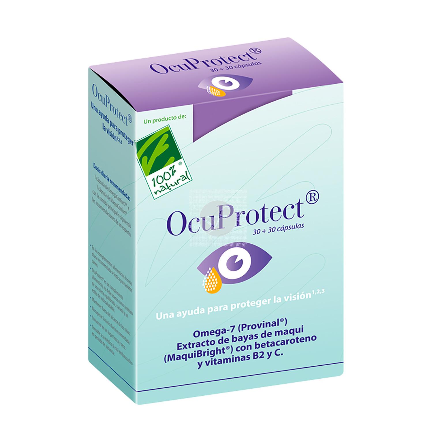 Ocuprotect 30 perlas + 30 capsulas 100% Natural
