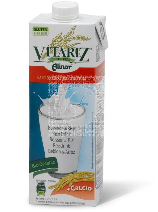 Bebida Vegetal De Arroz con Calcio Bio 1L Vitariz