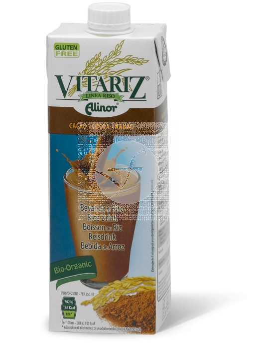 Bebida Vegetal De Arroz Choco Bio 1L Vitariz