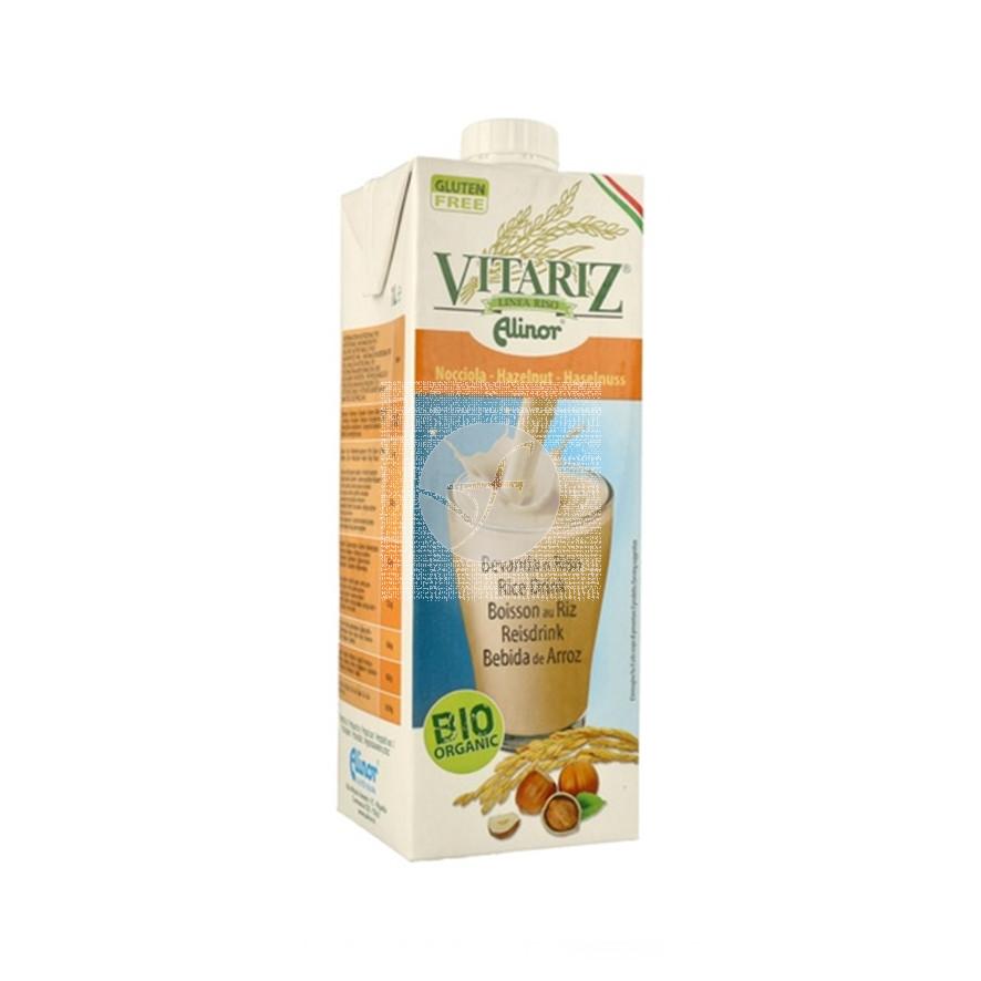Bebida Vegetal De Arroz con Avellana Bio 1L Vitariz