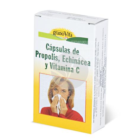 capsulas De Propolis Equinacea y Vitamina C Granovita