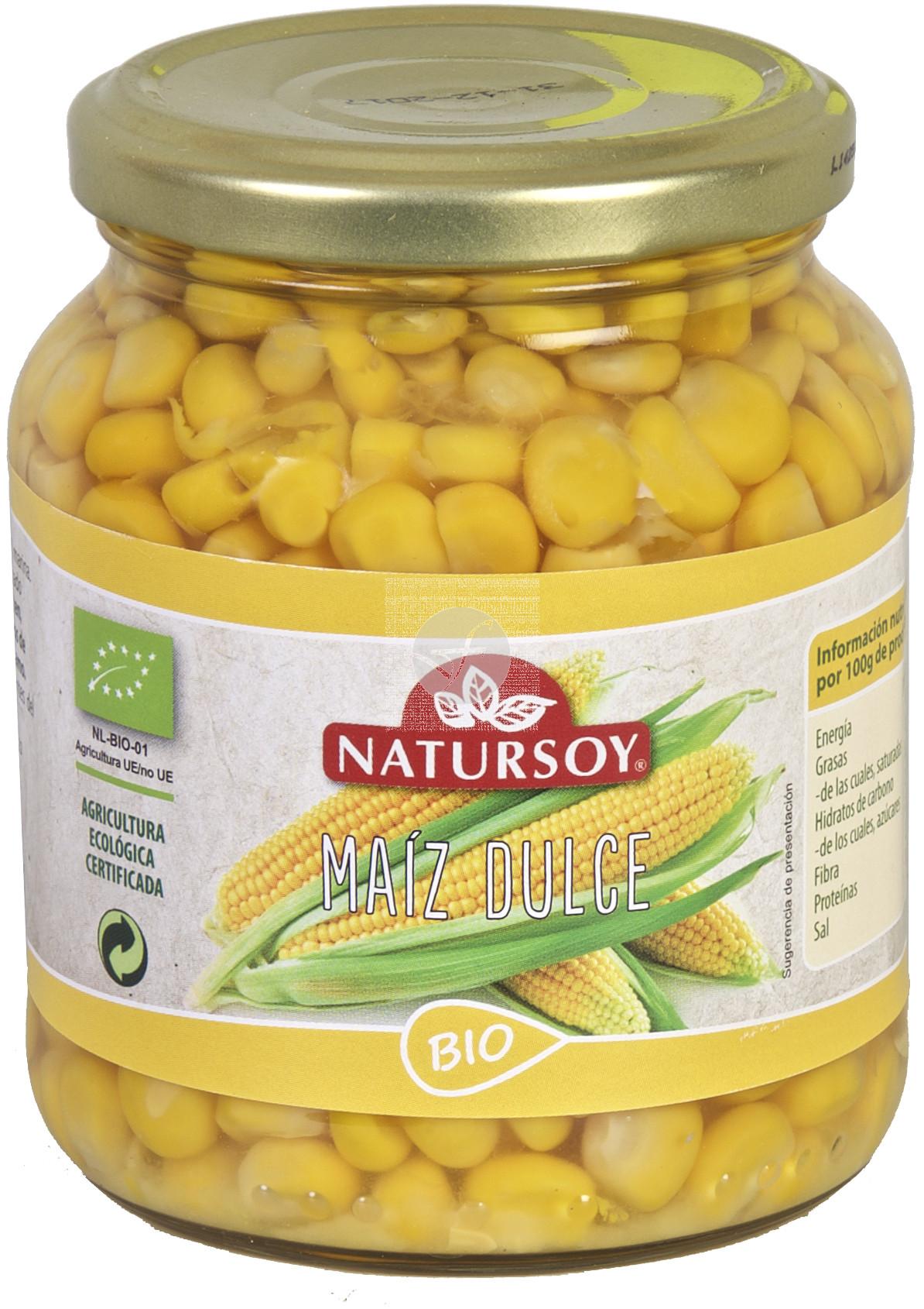 Maiz Dulce En conserva Bio Natursoy