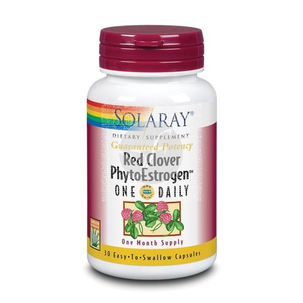 Red Clover Phytoestrogen (Menopausia) Solaray