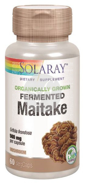 Maitake 500Mg capsulas Solaray