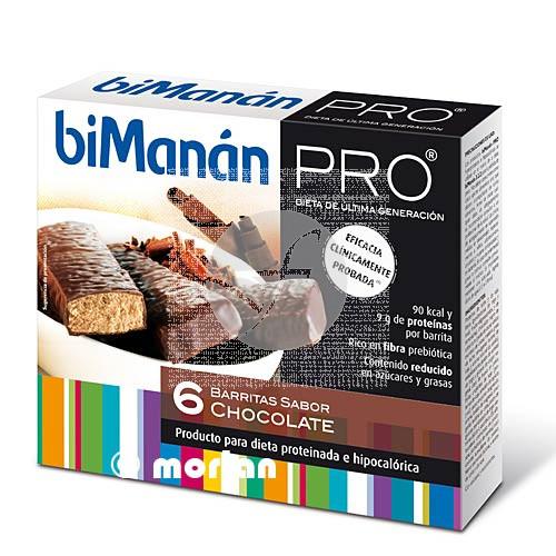 Barritas Proteinas Chocolate Bimanan Pro