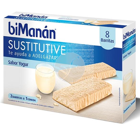 Barritas Sustitutivas yogur 8U Bimanan