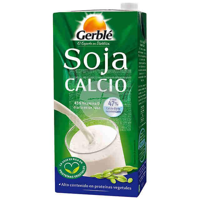 Bebida Vegetal Soja Calcio 1L Gerble