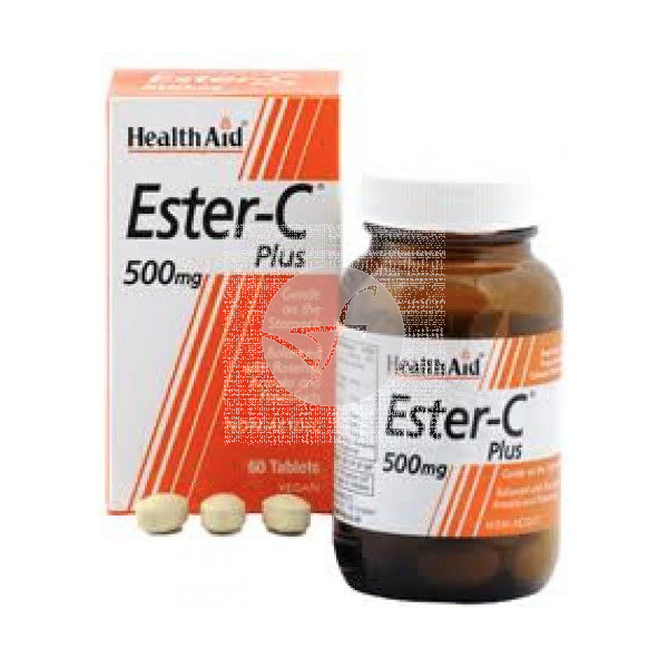 Vitamina Ester C Plus 500Mg Health Aid