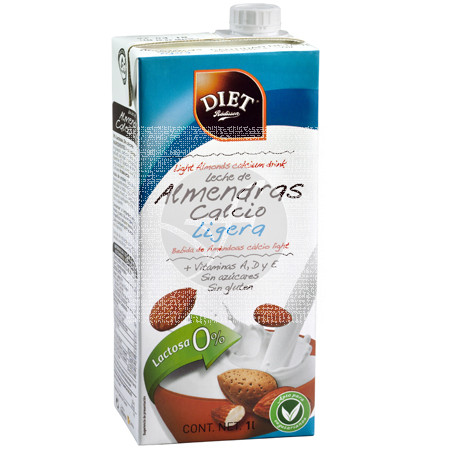 Bebida De Almendras Calcio Ligera sin gluten Diet-Radisson