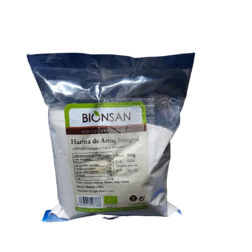 Harina de Arroz Integral Eco Bionsan
