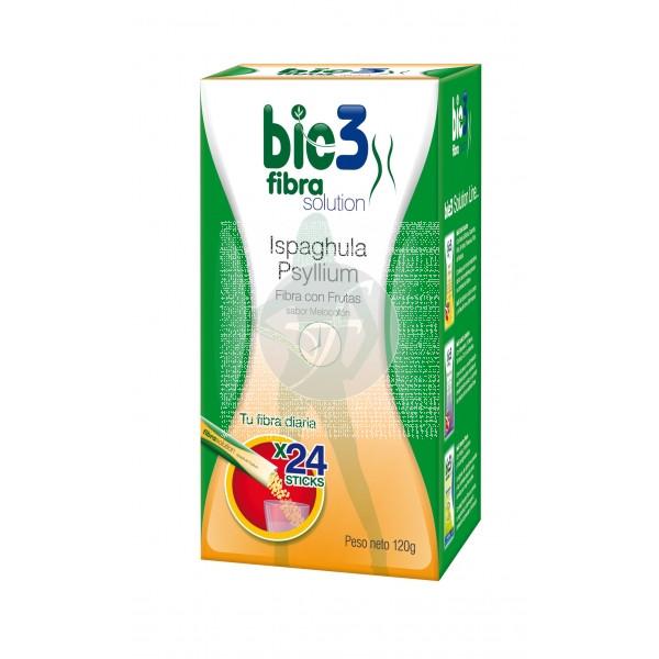 Bie3 Fibra Frutas Soluble 24 Sticks Bio3
