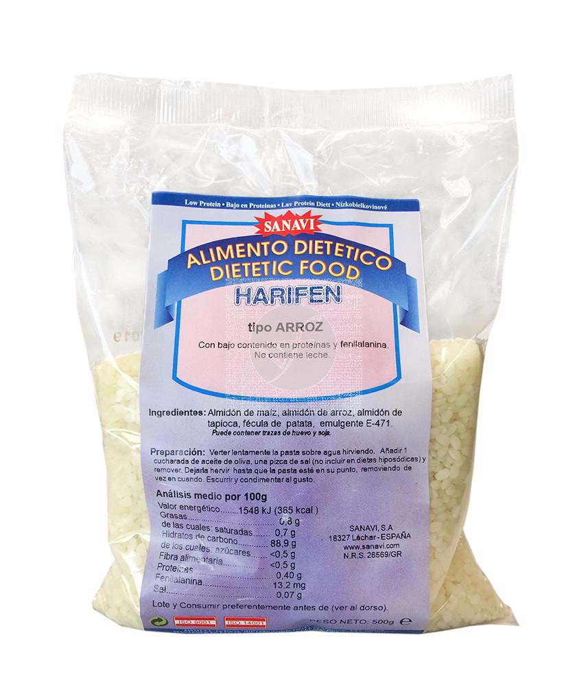 Pasta Arroz Sopa Baja Proteina Harifen