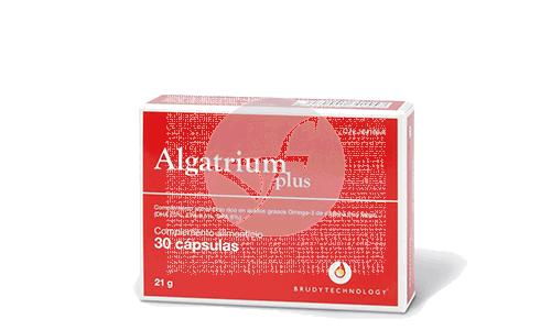 Algatrium Plus Omega3 500Mg 30 perlas Brudy Technology Brudytechnology