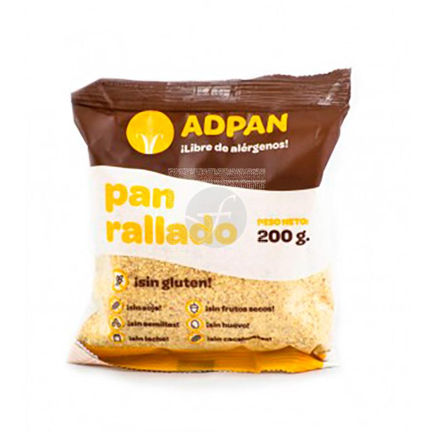 Pan Rallado sin gluten 200Gr Adpan