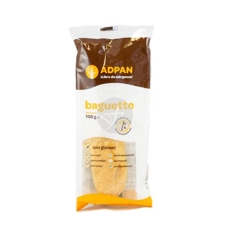 Baguette sin gluten 100Gr Adpan