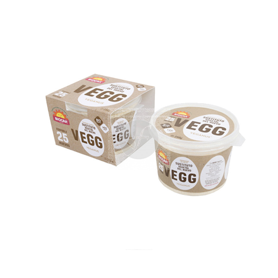 Vegg Sustituto Vegetal huevo Bio 250gr Biogra