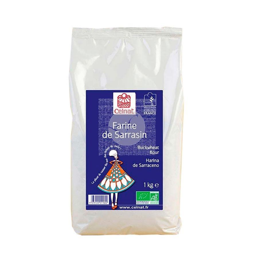 Harina De Trigo Sarraceno Bio 1kg Celnat