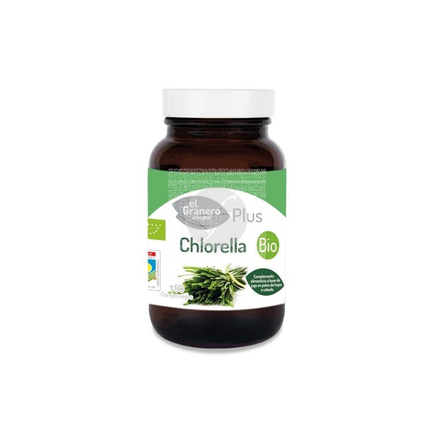 Chlorella Bio 400mg 180 comprimidos Granero Integral
