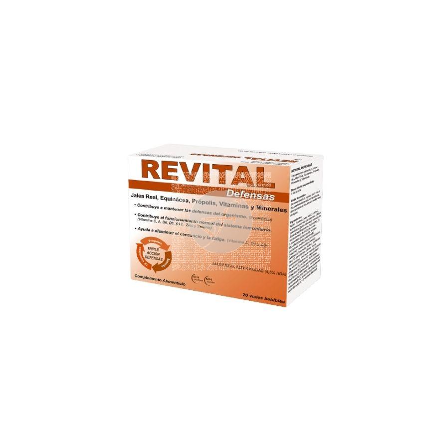 Revital Defensas 20viales Revital