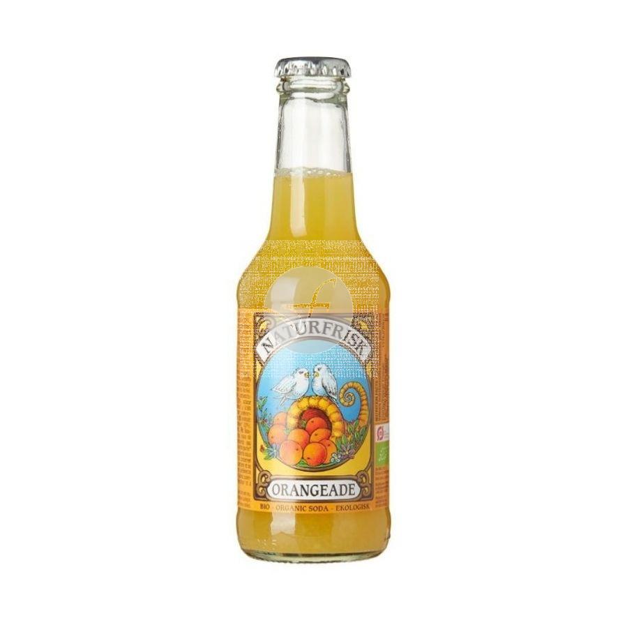 Refresco naranja Bio 250 ml Naturfrisk