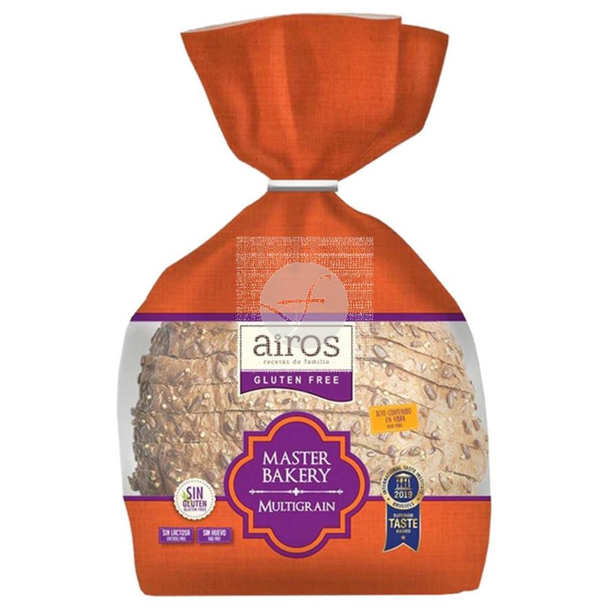 Pan De Payes Multigrain Master Bakery sin gluten Airos
