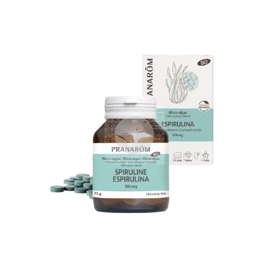 Espirulina Bio 150 Comprimidos Pranarom